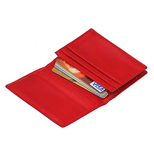 Zoom IMG-3 hibate portafogli uomo rosso red