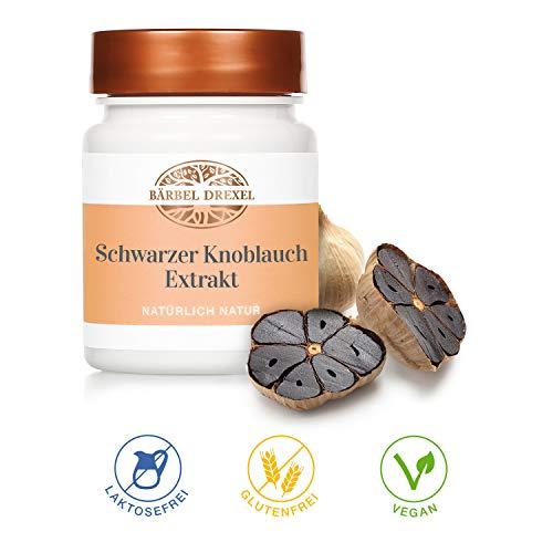 BÄRBEL DREXEL Schwarzer Knoblauch Extrakt Kapseln, 250 mg pro Kapsel (45 Kapseln),...