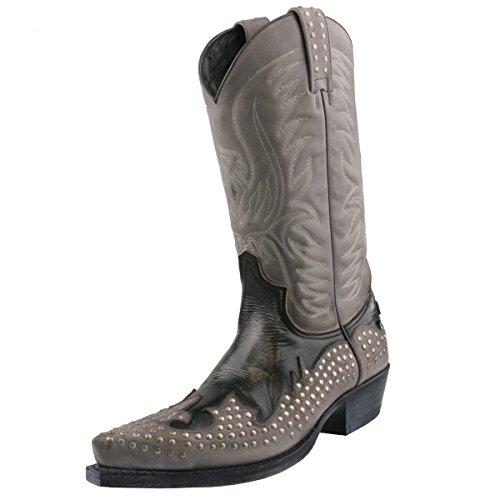 Sendra Boots, Stivali uomo Grigio grigio, Grigio (grigio), 43
