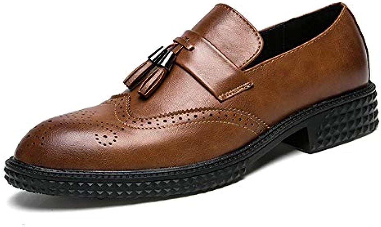 Jiuyue-scarpe, 2018 Scarpe Casual Oxford da Uomo, Scarpe Aperte Stile Classico con Nappe e Nappe Scarpe Uomo Pelle... | La qualità prima  | Gentiluomo/Signora Scarpa