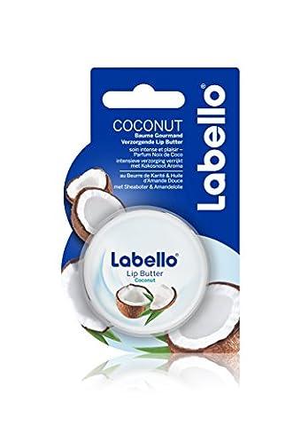 Labello Baume à Lèvres Gourmand Coconut 19 ml - Lot de 3