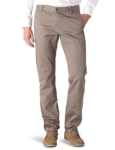 Dockers Dockers Alpha Khaki Core 44715 - Pantalones Hombre, Braun (Dark Pebble 0018), W31 / L34 (Taie fabricant: 33 / 80)