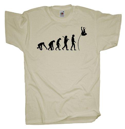 Ma2ca - Evolution - Stab Hochsprung T-Shirt Natural