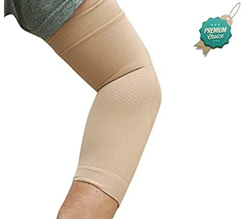 ELBOW COMPRESSION SLEEVE Support Brace - BeVisible Sports - Ideal
