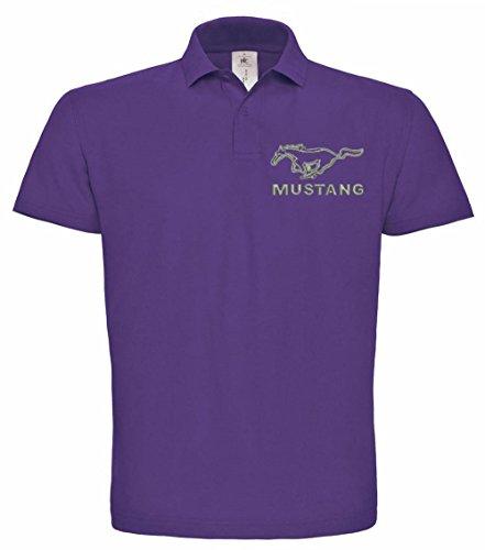 ford-mustang-gestickte-polo-fun-polo-varios-colores-super-premium-de-calidad-bordado-de-alta-calidad