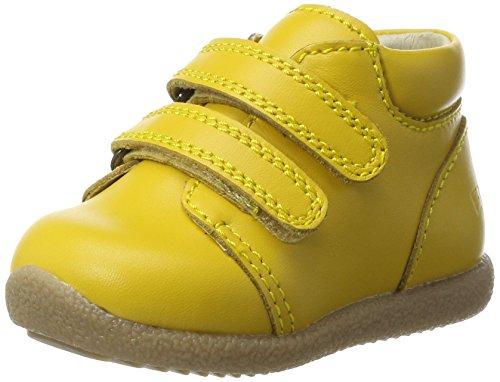 EN FANT Nova Velcro Beginner Shoe, Chaussures Marche Bébé Fille Gelb (Yellow)