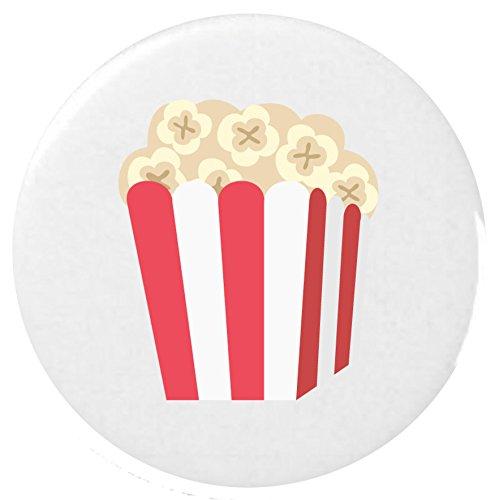 Anstecker / Popcorn Emoji 25mm Button Badge ()