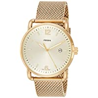 Fossil Mens Quartz Watch, Analog Display and Stainless Steel Strap FS5420