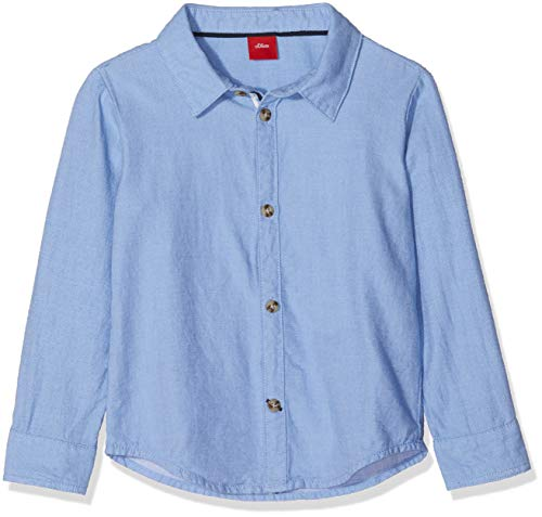 s.Oliver s.Oliver Baby-Jungen Hemd 59.811.21.4322 Blau (Light Blue 5332) 68