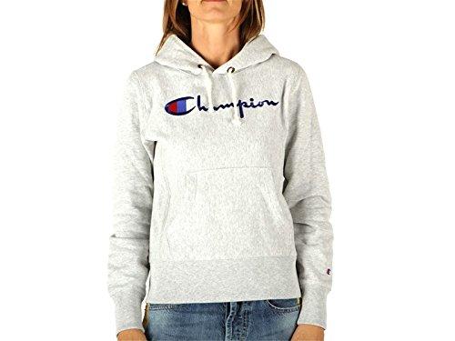 champion-damen-sweatshirt-gr-m-grau