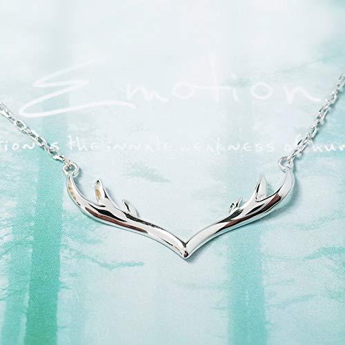 Wwf s925 ciondolo in argento con ciondolo a forma di ciondolo femminile in argento con ciondolo a forma di ciondolo,argento,42 + 5cm
