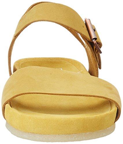 Clarks Damen Dusty Soul Slingback Gelb (Yellow OCHRE)