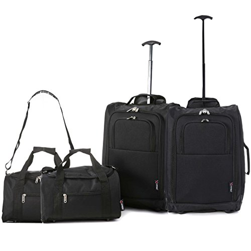 set-of-4-2x-ryanair-cabin-approved-55x40x20cm-2x-second-35x20x20-hand-luggage-set-carry-on-both-item