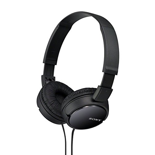 Sony MDR-ZX110 On-Ear Stereo Headphones (Black)  available at amazon for Rs.780