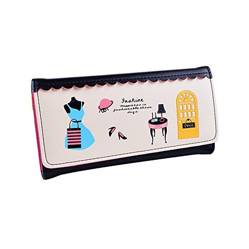 Ulisc New Brand Design Women Wallets Ladies Clutch Hand Bag Famous Brands Woman Cartoon Printing Purse Long Female Wallet