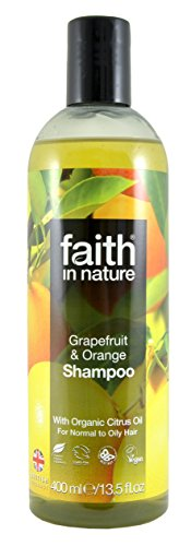 Faith In Nature Grapefruit & Orange Shampoo For Normal To Oily Hair 400ml