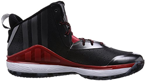 adidas - J Wall, - Uomo Black/Red/White