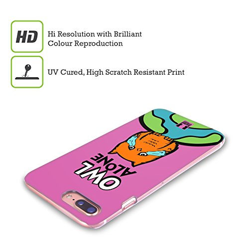 Head Case Designs Pizza Pazzi Sfortunati Cover Retro Rigida per Apple iPhone X Gufo