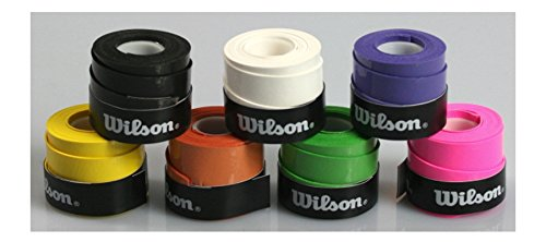 10 Wilson Griffbänder Bowl für Tennis Badminton Squash extra haltbar
