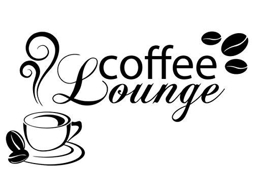 Wandtattoo-bilder Wandtattoo Coffee Lounge Nr 2 Kaffee Küche Esszimmer Wandtattoos Kaffeetasse...