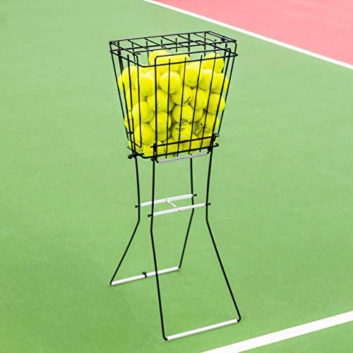 Vermont Tennisballkorb und Hopper - 72-Bälle Kapazität