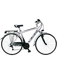 GIANNI BUGNO Bicicleta Aluminum Trekking Suspension Gris / Negro