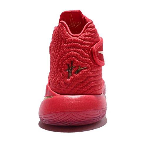 Nike Kyrie 2 Lmtd, espadrilles de basket-ball homme Rojo (University Red / Metallic Gold)