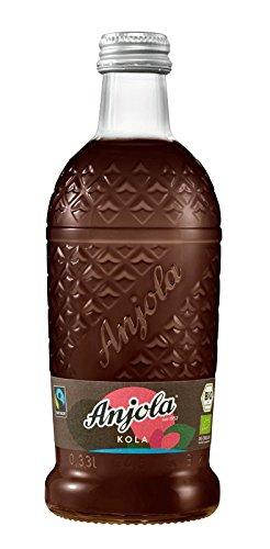 Anjola Kola 0,33l inkl. Pfand - Retro Cola in der kultigen Ananas-Designflasche