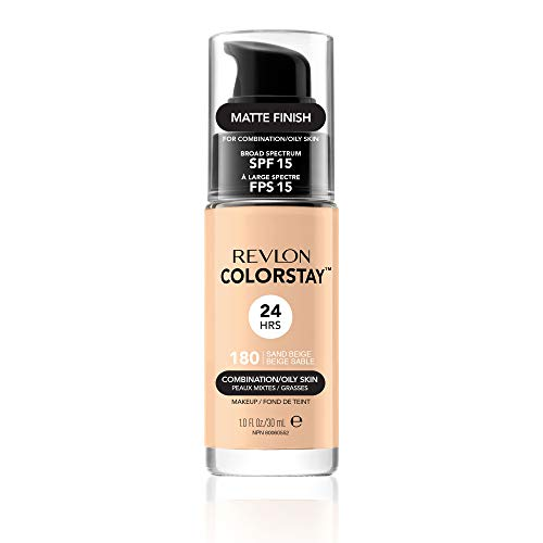 Revlon ColorStay Makeup for Combi/Oily Skin Sand Beige 180, 1er Pack (1 x 30 g)