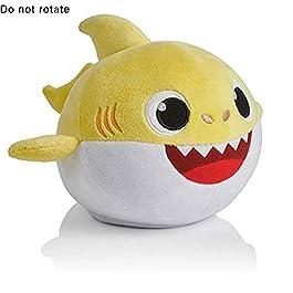 Bambola di peluche dello squalo del bambino Giocattolo del regalo di compleanno della bambola della