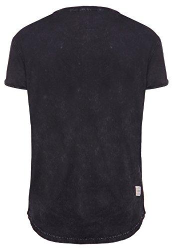 khujo Herren Shirt ULAF 2464SH161_200 schwarz (200 BLACK)