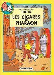 Tintin - Album double - Les cigares du pharaon / Le lotus bleu par Hergé