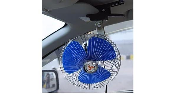 12V 25W beweglicher Träger Ventilator oszillierende Auto Selbstkühler Ventila DE