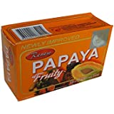 Renew Papaya Herbal Fruity Soap For Skin Whitening AMZ0018 3Pc