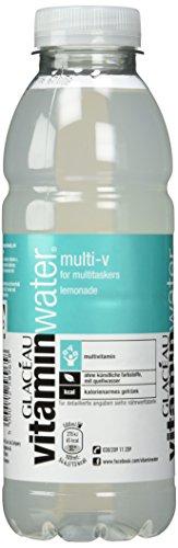 GLACÉAU vitaminwater multi plus v Einweg, 12er Pack (12 x 500 ml)