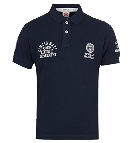 Franklin-Marshall-Navy-All-State-Pique-Polo-Shirt