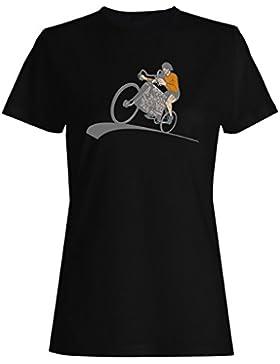 Nueva Bicicleta Ciclista Con Motor De Coche V8 camiseta de las mujeres h714f