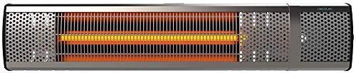 Cecotec Calefactor de Pared Exterior Ready Warm 8500 Power Aluminium. Halógeno de radiación infrarroja...