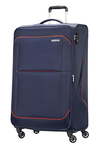 american-tourister-sunbeam-4-roues-79-29-extensible-valise-79-cm-117-l-nordic-blue
