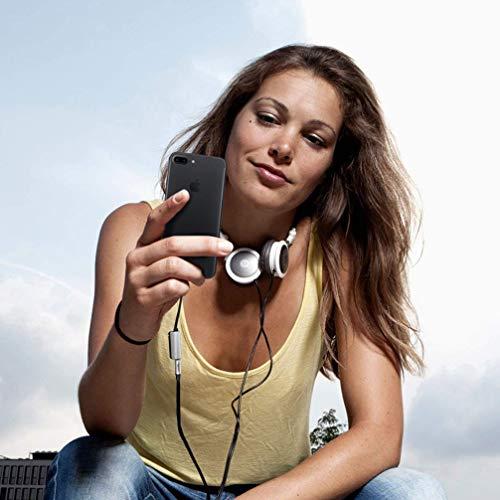Kopfhöreranschluss für iPhone XR-Adapter Kopfhörer Audio-Splitter und Ladeanschluss für iPhone X / XS max / 7/7 Plus / 8 / 8Plus Unterstützung für Musikhören und Ladehilfe iOS 11.4 System -Sliver - 3