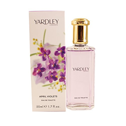 Yardley London, April Violets, Eau de Toilette da donna, 50 ml