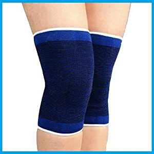 Aurion Knee Brace | Knee Support for Sports, Gym & Surgery Recovery | Provide Relief From Knee and Joint Pain (knee support blue)