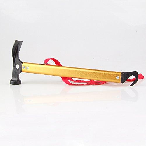 Multifunktions High Carbon Stahl Zelthammer Hammer Fuer… | 00755899266364