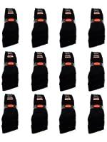 10 bis 60 Paar Sportsocken Tennissocken Arbeitssocken Schwarz Baumwolle - Damen & Herren Socken - sockenkauf24