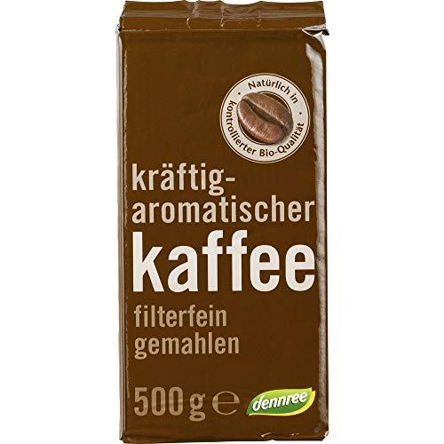 dennree Bio Röstkaffee gemahlen (2 x 500 gr)
