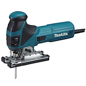 Makita 4351FCTJ Sierra de calar de 135 mm, con LED, 720W