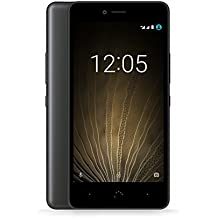 "BQ Aquaris U LITE LTE - Smartphone de 5"" (Dual SIM, Bluetooth 4.2, Quad Core 1.4 GHz , 16 GB de memoria interna, 2 GB de RAM, cámara de 8 MP, Android 6.0.1 Marshmallow ), color negro"