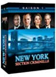 New York Section Criminelle : L'Intégrale saison 1 - Coffret 6 DVD