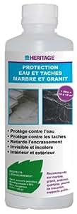 Heritage - Protection eau et taches marbre et granit 500ml
