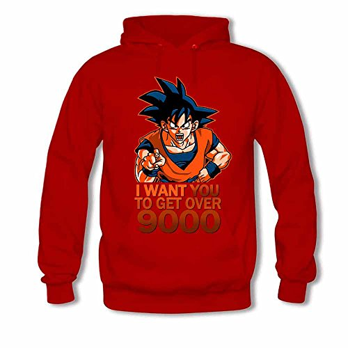 Mens Hooded Sweatshirt Goku - Dragon Ball z Hoodie M